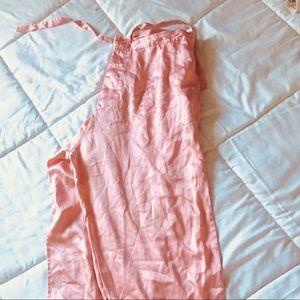Other - Salmon pink silk capri pants small